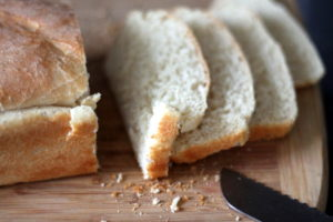 homemade loaf bread