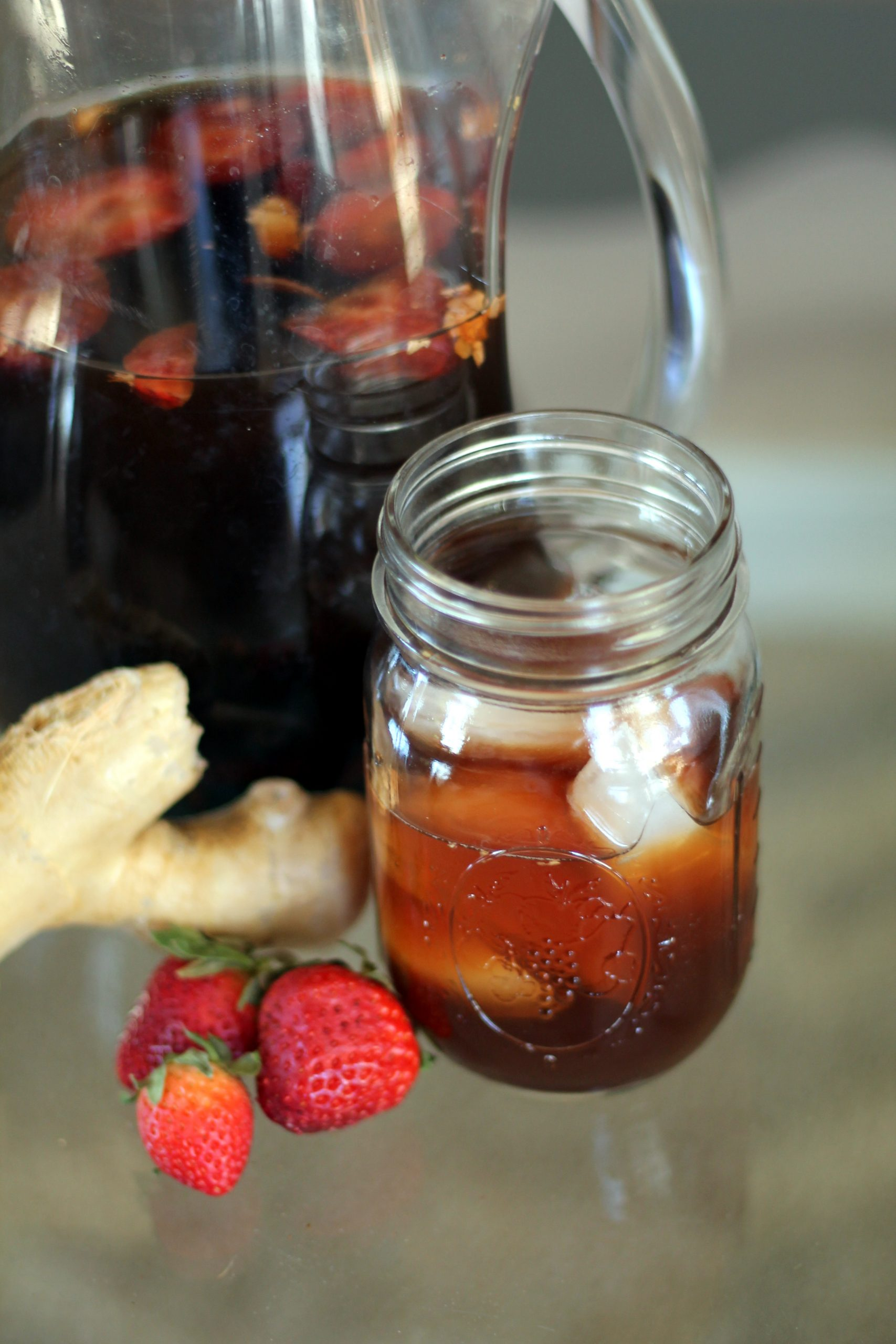 Strawberry Ginger Switchel Recipe – an All-Natural Old-School Gatorade