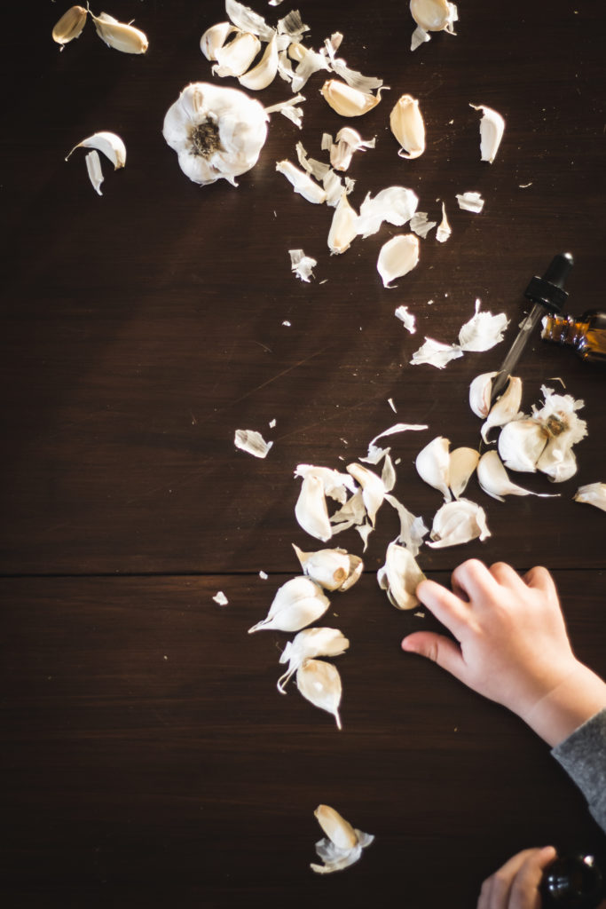 Herbal remedies with garlic and ear infections
