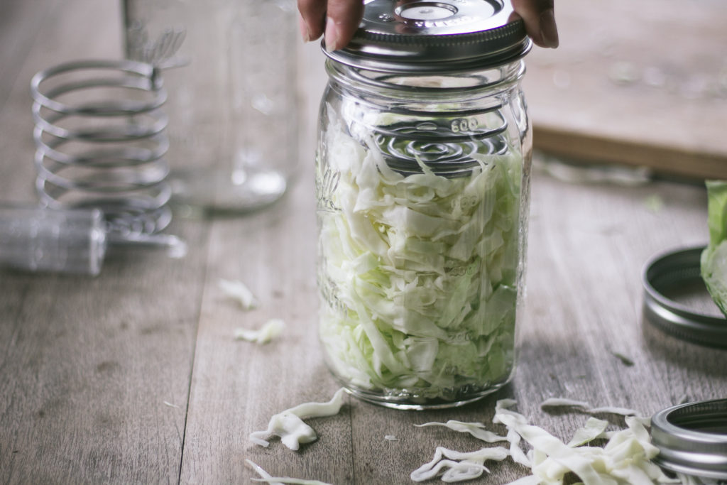 how to make sauerkraut recipe for canning