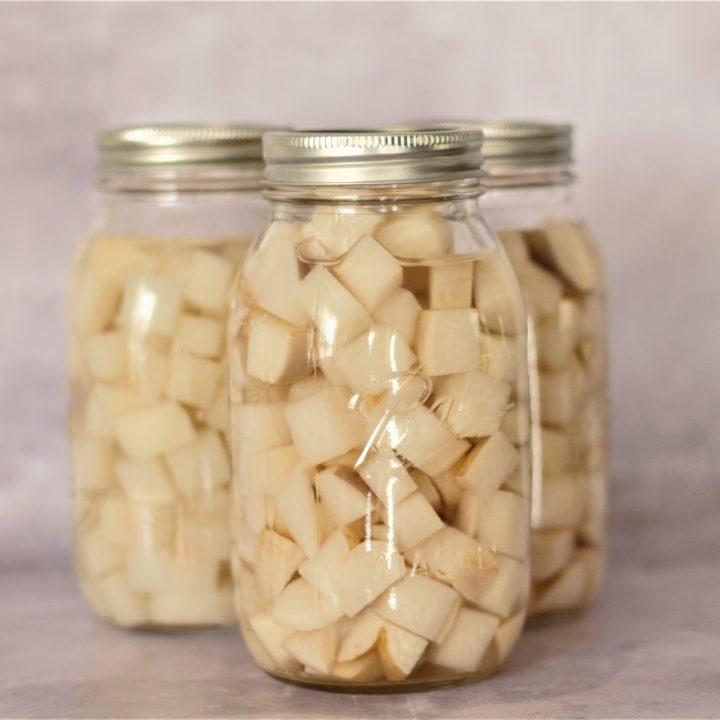 Canning Turnips