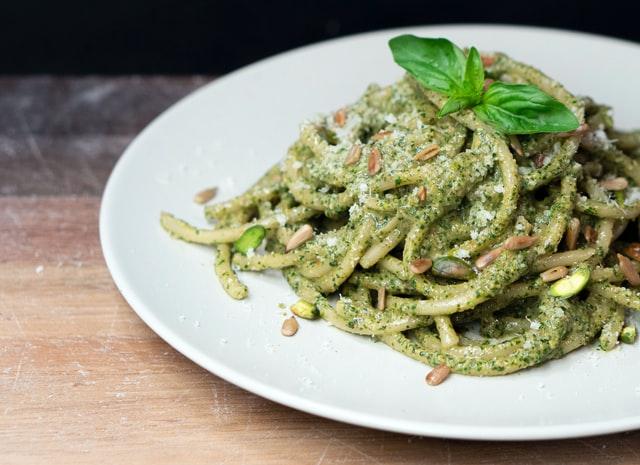pistachio and pasta recipe