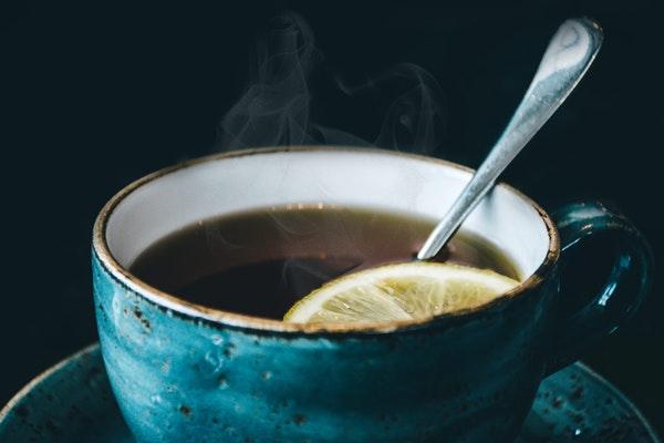 lemon peel tea to boost the immune system