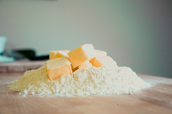 using butter in baking