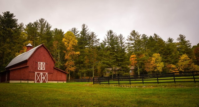 farm in a remote area