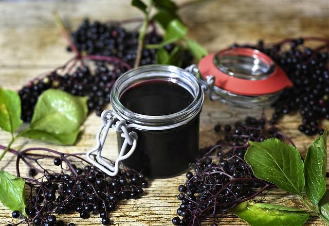 Easy Recipe for Elderberry Syrup