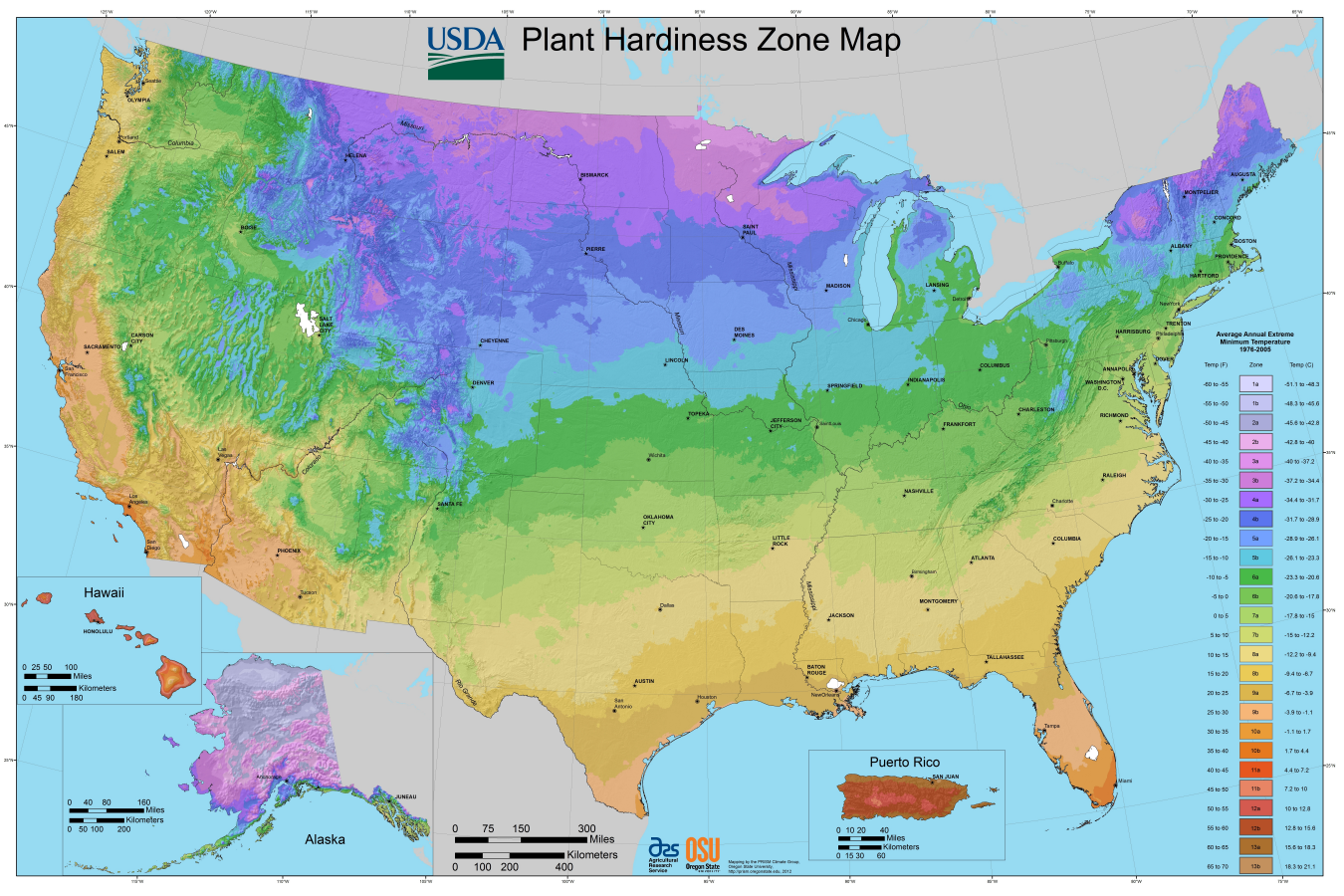 How to Read Your Garden Zone Map